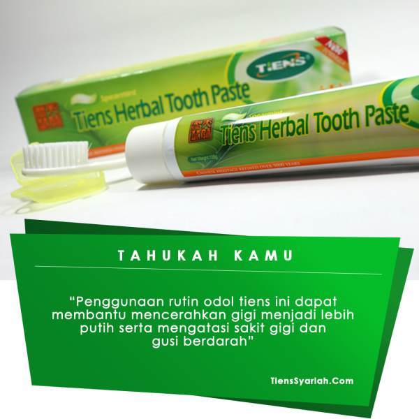 tiens odol tooth paste