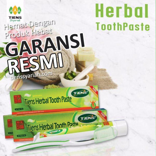 tiens herbal tooth paste odol
