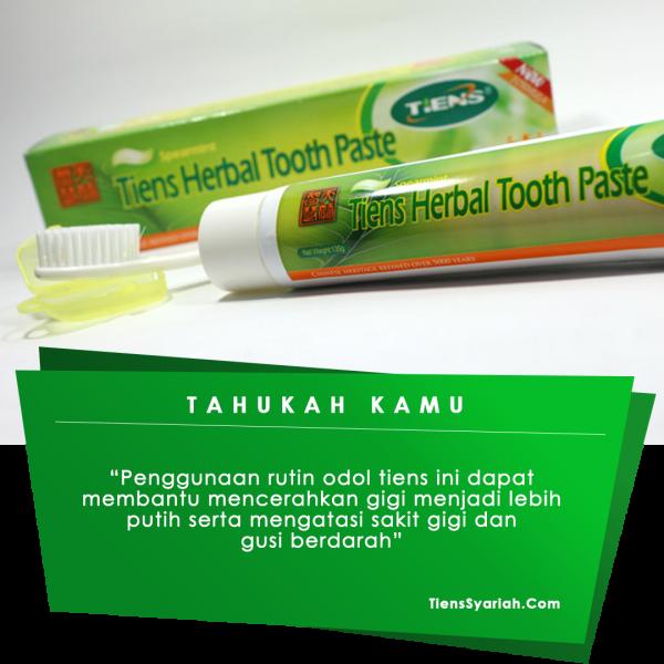 tiens odol tooth paste