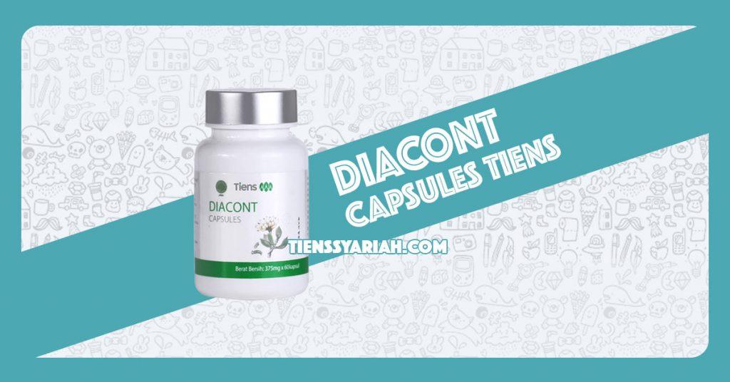 Diacont capsules tiens resmi